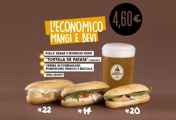 Immagine promozionale spagnola tradotta in italiano
